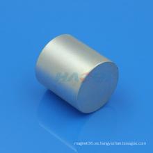 Magnetización axial fuerte Neodymium Cylinder Magnet