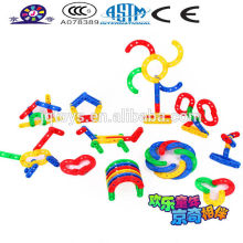 JQ1004 Kids Educational creative Plastic Strip Assembling Blocks Toy diy intellect number puzzle