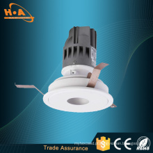 Venda quente luz de poupança de energia anti-reflexo arruela de parede