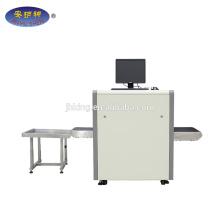 Scanner de bagagem de scanner de raio x de tamanho pequeno