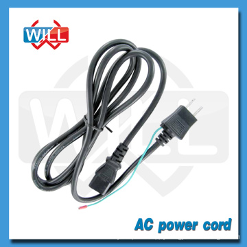 PSE certified VFF 0.75 1.25 2mm2 125V japan electric skillet power cord