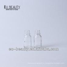 Фармацевтическая прозрачная бутылка с эфирными маслами 10 мл