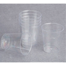Vidrio De Disparo Plástico, Vidrio De Prueba Pequeña 1oz