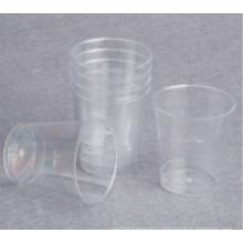 Пластмассовое стекло, маленькое стекло для дегустации 1 унция