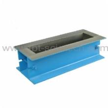 T-BOTA 100 * 100 * 500 molde de viga de acero de hormigón