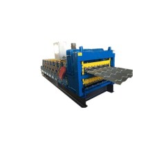 Three layers galvanized metal roll title forming machine