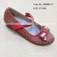 Мода Сладкие дети одной обуви обувь принцесса обувь танцы (FF0808-41)