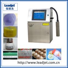 Máquina de impressão pequena da etiqueta da garrafa da impressora a jato de tinta do caráter de Leadjet