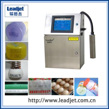 Impresión de 1-4 líneas de alta velocidad inyección de tinta máquina de impresión