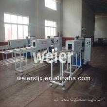 WEIER-400 WPC embossing machine