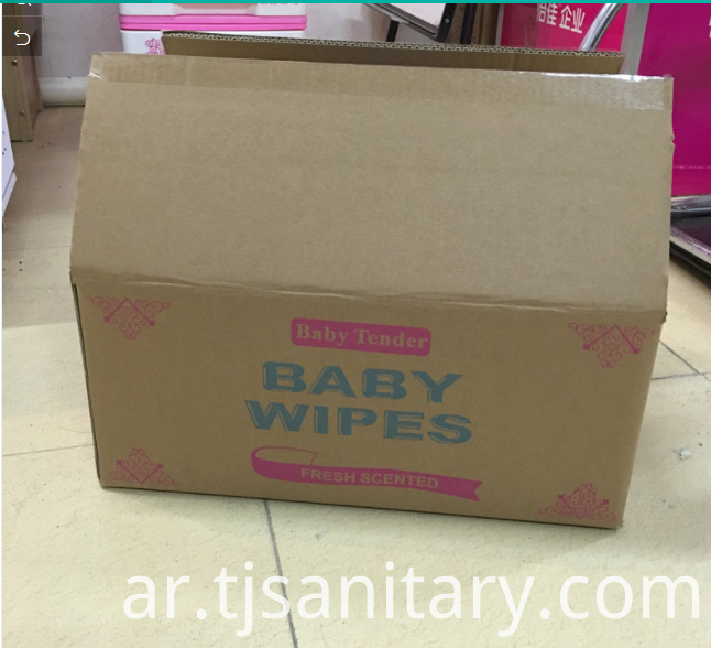 Baby wipes for cleaning