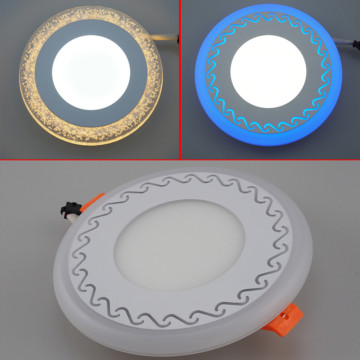 two color ultral slim panel led light