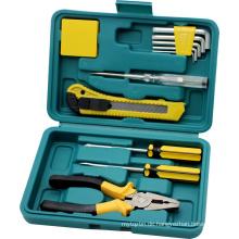 11-teiliger Werkzeugsatz mit Boxen