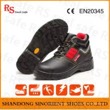 Tipo de sapatos de segurança e couro Botas de segurança de mineração de material superior