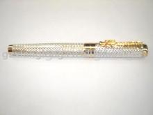 Metal roller pen and fountain pen
