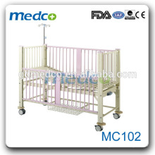 Medco MC102 Stainless Steel One crank lit d'enfants médicaux