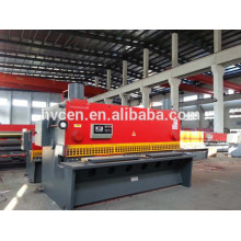 Máquina de guillotina hidráulica qc11y-20x3200 / cortadora de chapa de hierro