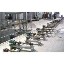 220V 380V AAC Cutting Machine Roller Conveyor Side Panel 42