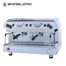 10.6L professionnel Double têtes cafetière / espresso machine à café prix