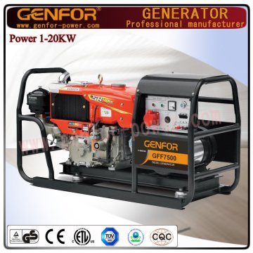 Хорошая цена Новые дизельные генераторы с низким энергопотреблением мощностью 8 кВт
