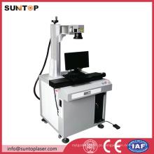 Máquina portátil da marcação do laser da foto da fibra / máquina de marcação do laser