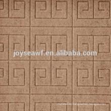 Huizi en forma de placa de relieve de Joy Sea E1 / E2 pegamento 1220x2440mm