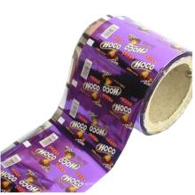 Шоколадная упаковочная пленка / конфетная рулонная пленка / пленка для закусочной пленки