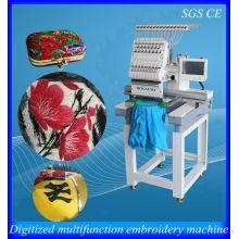Tapa de cabezal superior venta 1 bordado computarizado máquina del bordado de la máquina / comercial para negocio feliz