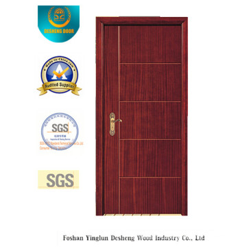 Modern Design MDF Door for Room with Brown Color (xcl-032)