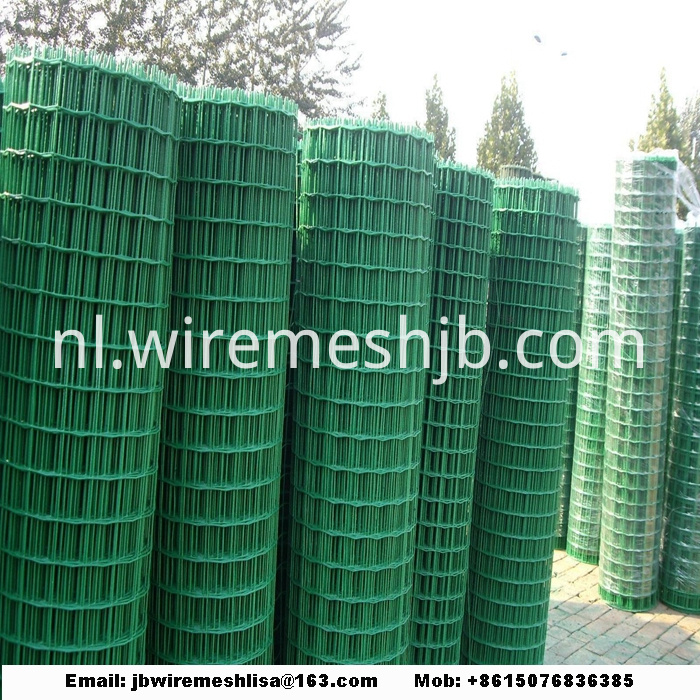 PVC Coated Security Euro Fence