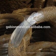 Material de construcción electro galvanizado productos de alambre de hierro exportados a Dubai