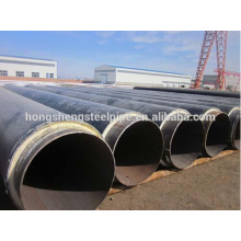 Polyurethane thermal insulation steel pipe