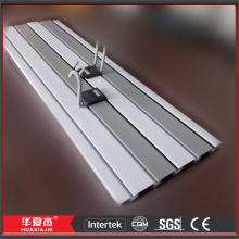 Slatwall Panels PVC Wall Accessories Plastic Display Fixtures