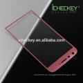 La película protectora 3D del teléfono móvil curvó el mejor protector de cristal moderado de la pantalla para lg g55