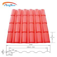 Kunststoffabdeckung Roma ASA PVC Dachziegel