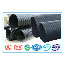 Двойная стенка hdpe подземных канализационных труб