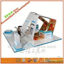 material da cabine da exposição, idéias da cabine da exposição, exposições da mostra do expo de Shanghai