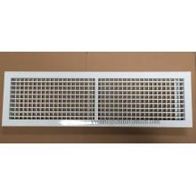 Sistema de HVAC de aluminio montado en la pared difusor de techo de aire