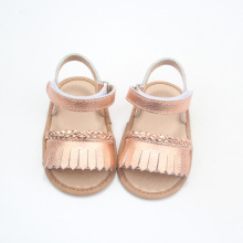 Toddler Moccasins Shoes Summer Tassel Baby Sandals