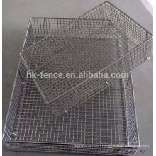 medical stainless steel 304 disinfecting basket