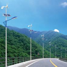 Оптовая торговля 30Вт ветровой солнечной гибридной светодиодной уличной лампы