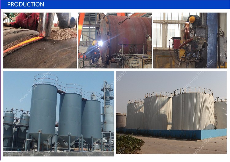 Waste Rubber Oil Distillation Plant