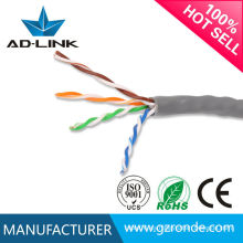 2015 fábrica de China de alta calidad HDPE cat5 cable de red de interior