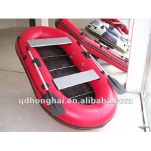 remos inflable barco HH-F235 CE pesca kayak