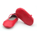 Mix 20 Colors Quality Genuine Leather Cute Baby Dress Shoes