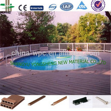 wpc pool decking floor