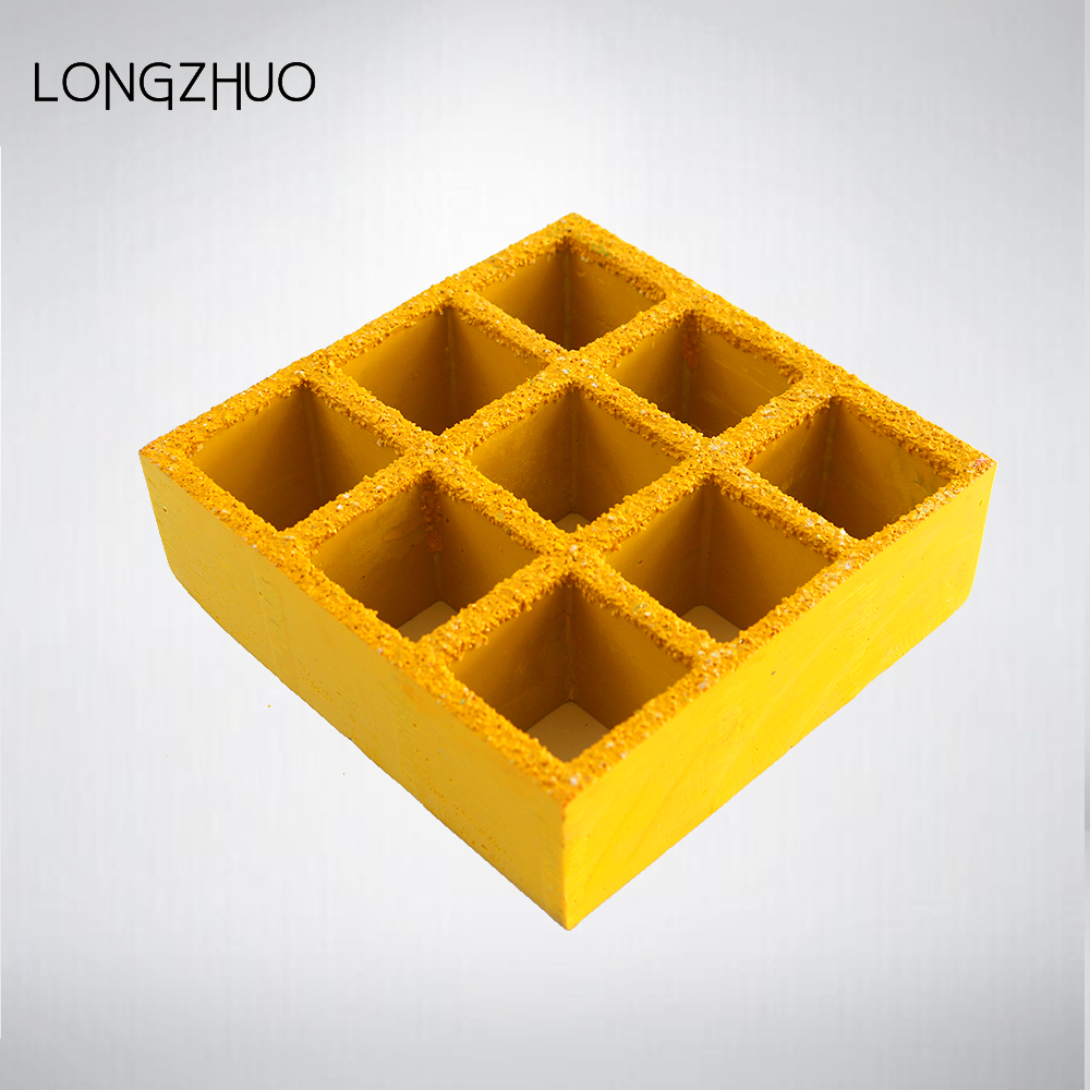 "Square Mesh Fiberglass Grating 1.5 ""Thickness"