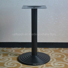 Strong Black Metal Single Leg Round Dining Table Base (SP-MTL169)