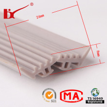 Factory Supply Flexible Heat Resistant Silicone Rubber Seal Strips