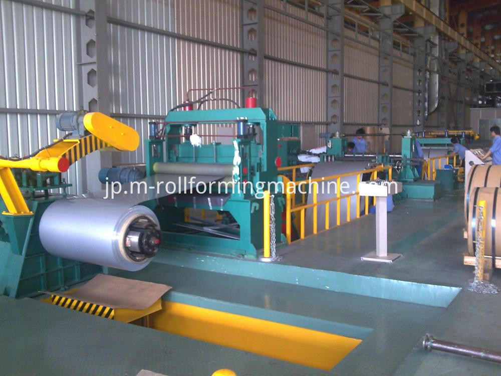 7x1500 mm roll slitting machines